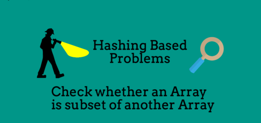 Check whether an Array is subset of another Array