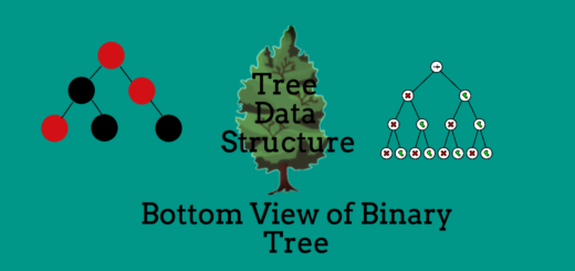 Bottom View of Binary Tree