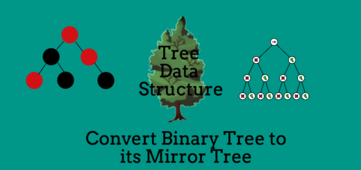 Convert Binary Tree to its Mirror Tree