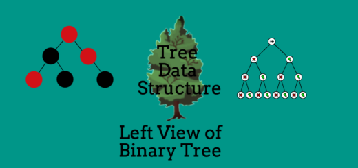 Left View of Binary Tree