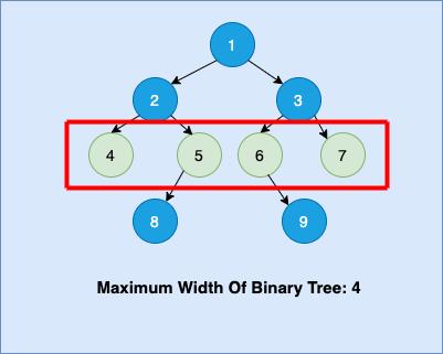 Maximum Width of Binary Tree
