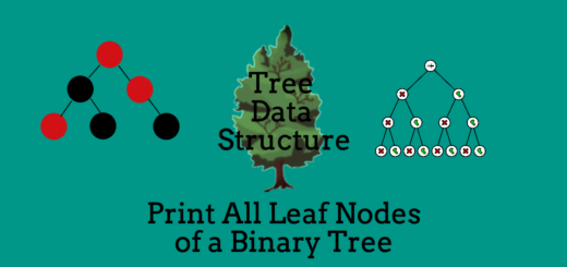 Print All Leaf Nodes of a Binary Tree